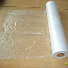 HDPE transucent plastic cover film for garment cutting room