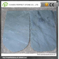 Beautiful colors natural slate roof tiles