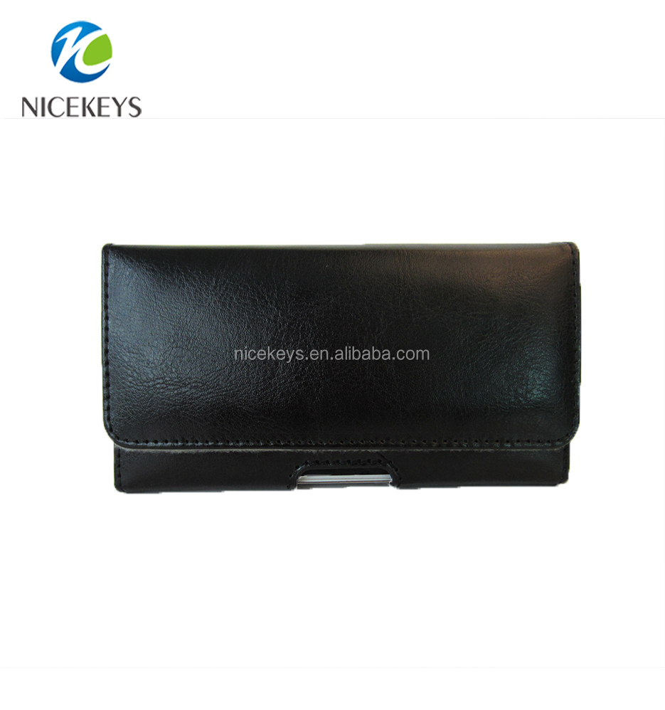New style Universal Pu Leather Wallet Case Cover with Belt Clip Mobile Phone Cases for Samsung
