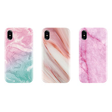 Wholesale shockproof tpu cell phone cover marble phone case for iphone x