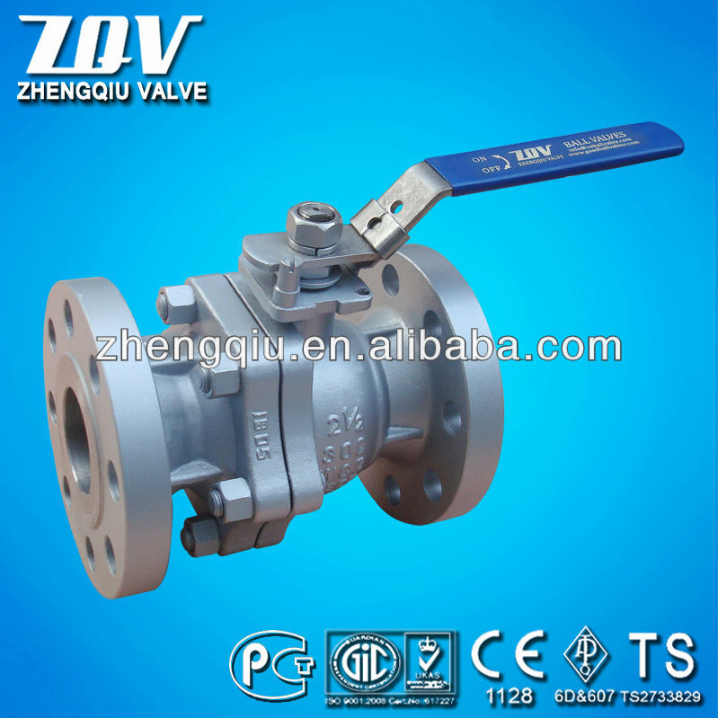 CS FP RF Flanged Floating Ball Valves 150LB 300LB 600LB