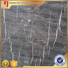 New useful black thick laminated marble