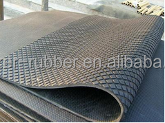 anti-slip dairy cow rubber mats for animal sleeping