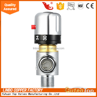 "Linbo-1China supplier 1/2"" vernet thermostatic mixing valve (DN15-MM)"