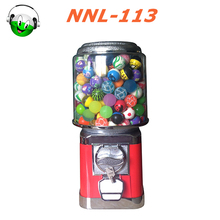 High end coin operated gashapon gumball machine factory