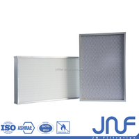 Widely used high air flow hepa filter Aluminum foil Deep-pleated Hepa air box filter