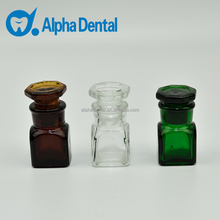 Dental Glass Medicine Bottle/Dental Colorful Medicine Container/Dental Glass Medicine Container