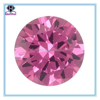 round shaped cubic zirconia jewelry
