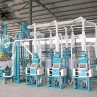 high efficiency fully automatic corn/wheat flour mill