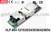 80W HLP-80H MEANWELL/LED POWER SUPPLY/CE UL EMC