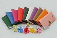 Credit Card Holder Slot Magnetic Leather D Buckle Case for iPhone 5C