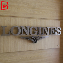 Customized stainless steel metal letter 3d business company name and logo <strong>sign</strong>