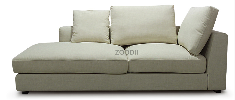 Europe Style Modern Down Feather Sofa For Living Room