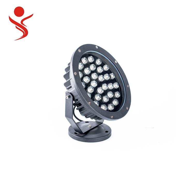 new high power 30w outdoor waterproof led spot flood light use in building square scenic spot garden