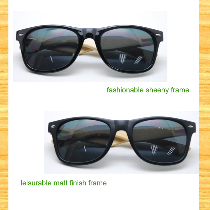 2015 Best Quality Eyeglass Frame With Bamboo Packing Case ...
