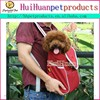 High-end style canvas pet dog carrier bag