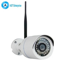 1080P 20M Long Range Night Vision Small Bullet Waterproof ONVIF P2P Mini Camhi Outdoor Wifi IP Camera