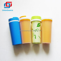 Double wall water cup plastic warming cup gift cup
