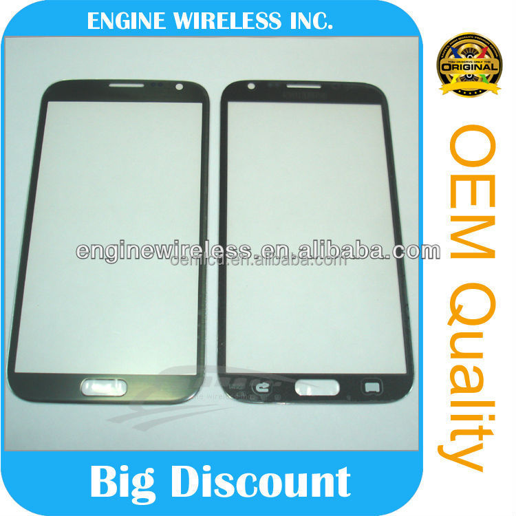 replacement galaxy note 2 glass,china wholesale,oem