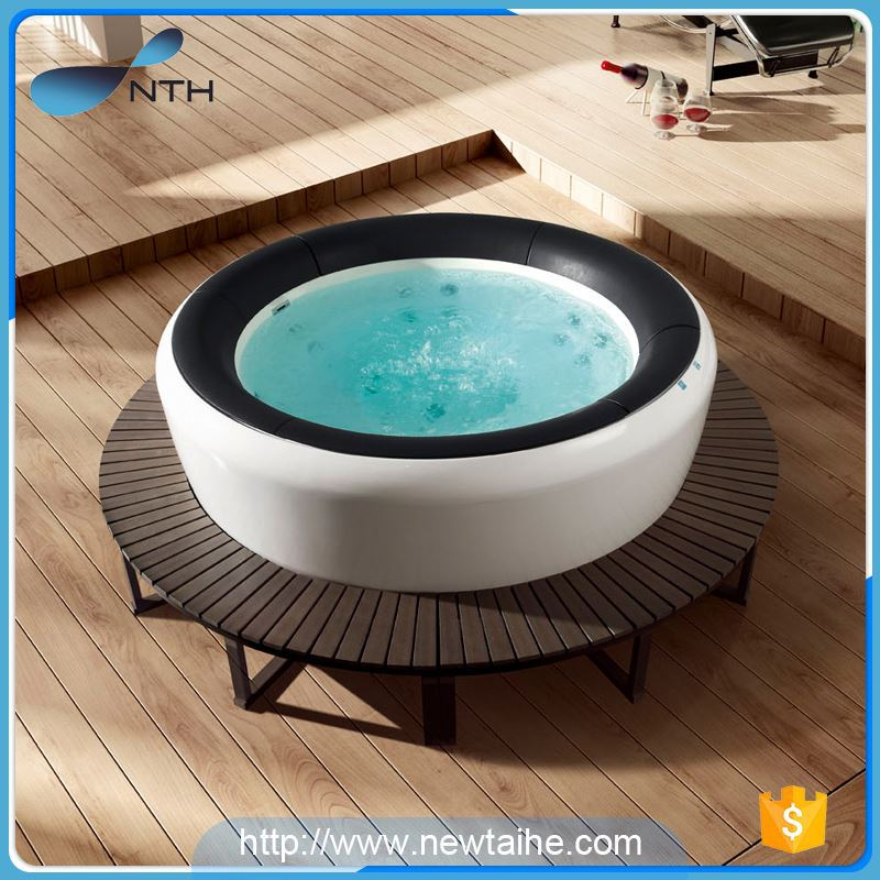 NTH china factory popular ISO9001 hand shower air jet massage outdoor spa hot tub