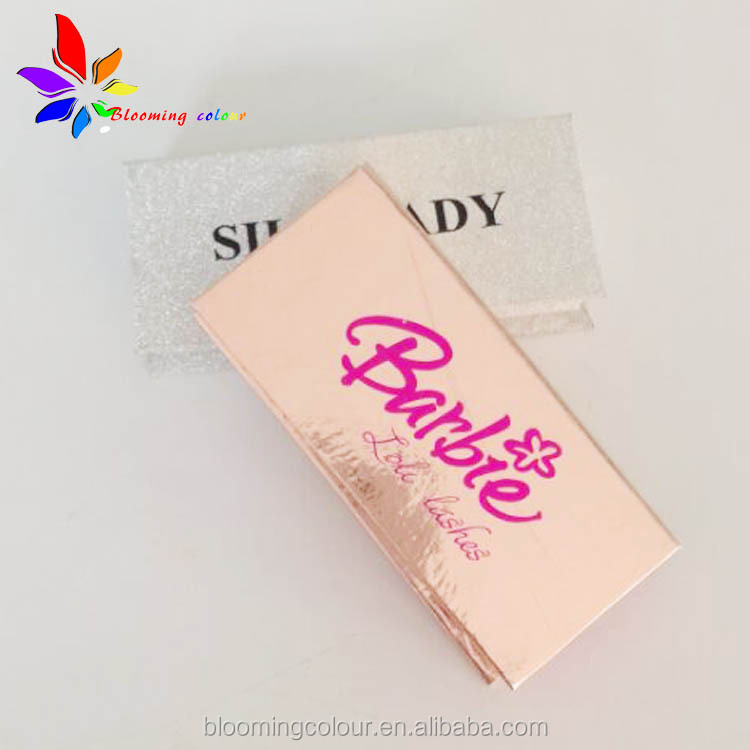 New arrivals factory custom eyelash packaging box with private label