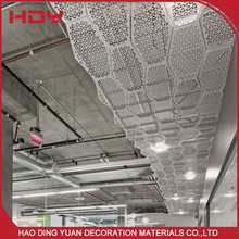 Environmentally Aluminum Shopping Center Metal Ceiling Tiles