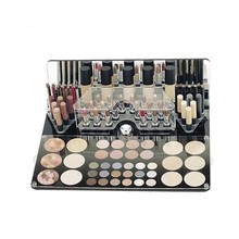 CB-1430 Luxury acrylic makeup display stand for powder,lipstick,nail polish,cream