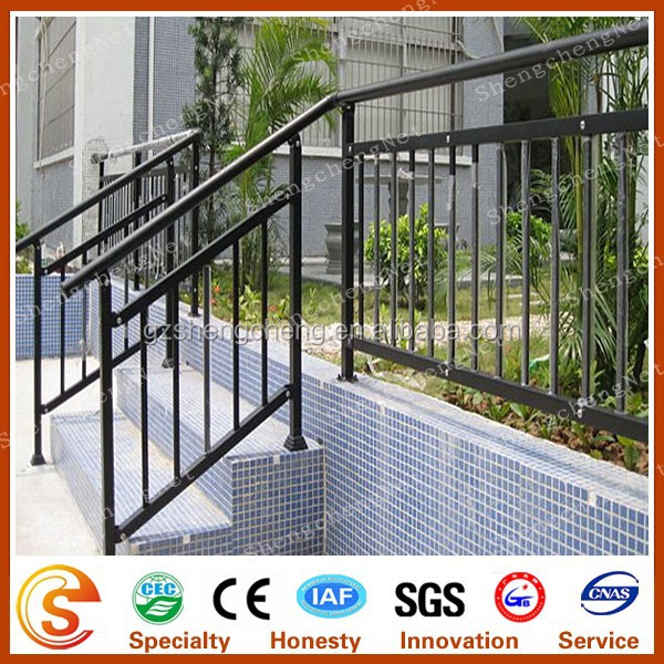 Wrought iron railings Factory price wrought iron stair railing