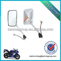 Good Quality Motorcycle Back Mirror with LED light