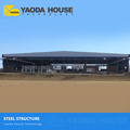 Myanmar Metal Sandwich Panel Factory Prefabricated Sustainable Building Steel Structure Frame Workshop For Sale