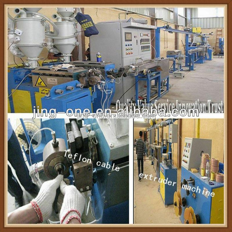 Teflon electric wire cable making machine