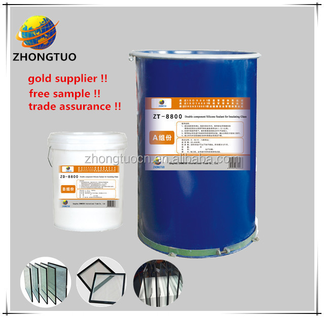 two components structural silicone sealant for building material