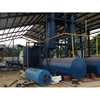 China high reputation manufacture continuous waste tyre pyrolysis plant plastic to oil machine for sale