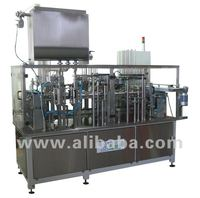 Margarine filling and sealing line