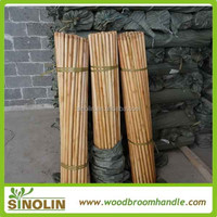 wholesale smooth threaded 1.2x120cm varnished wood broom sticks