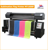 Direct Sublimation Digital Flag Printing Machine