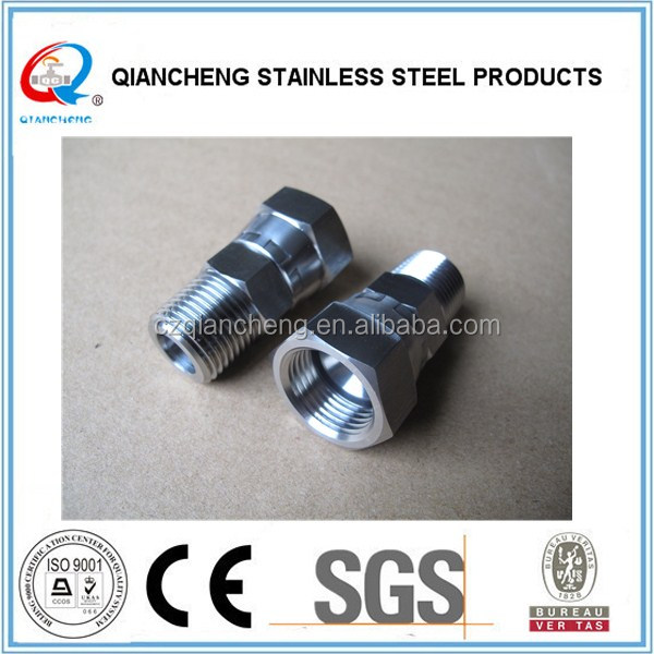stainless steel barb hose adapter