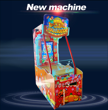 Lottery machine ticket out coin operated kids racing arcade game machine for sale