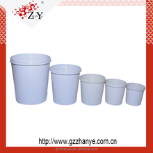 Clear or white paint mixing cup