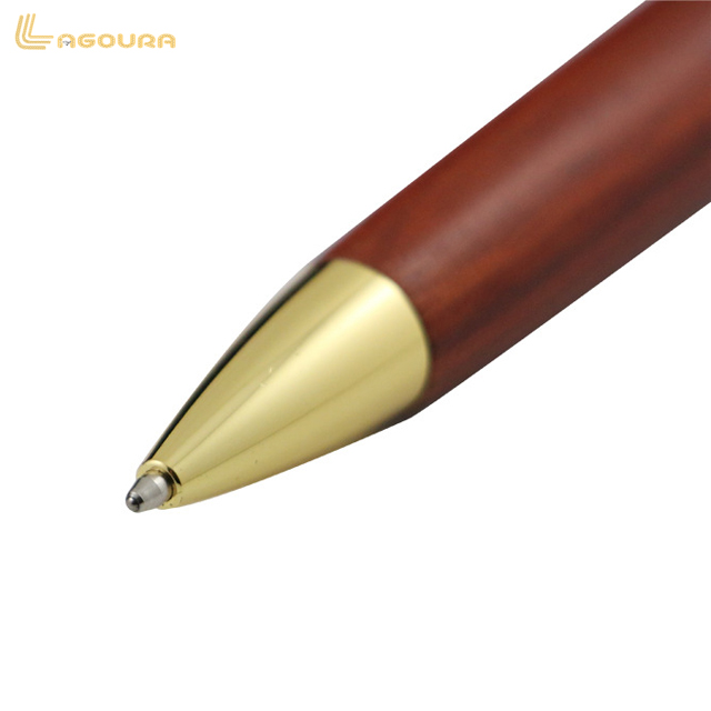 Eco Friendly Black Walnut Wood Rosewood Ballpoint Pen With Logo