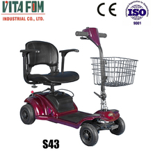 Foldable and Portable lightweight electric mobility scooter for elderly