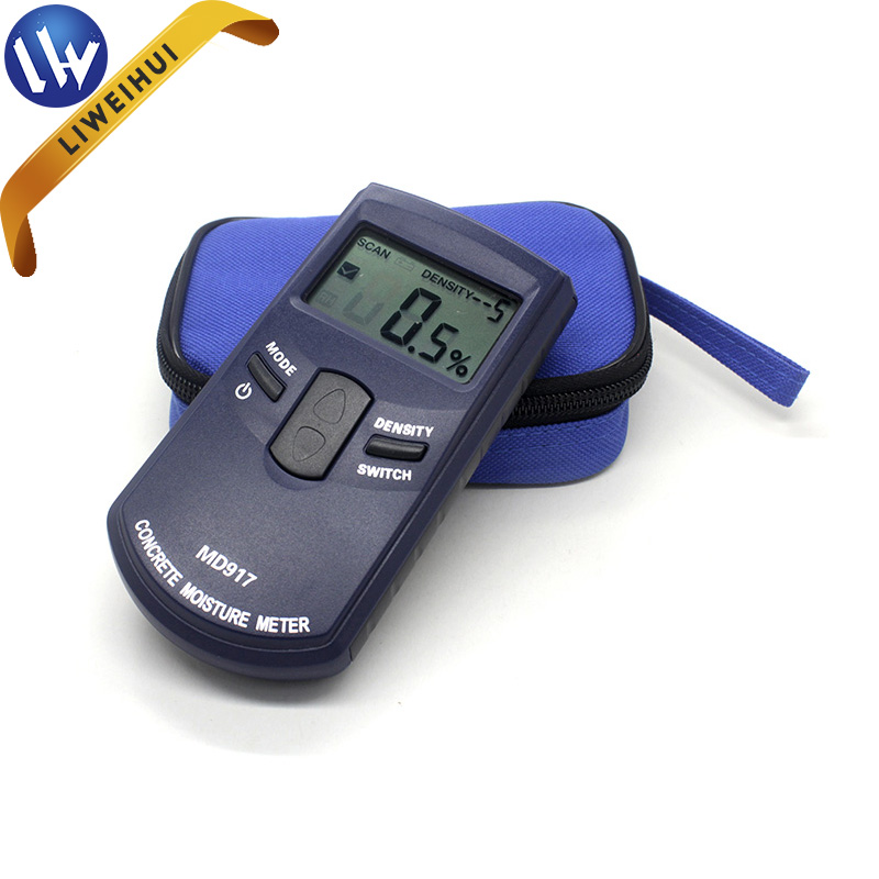 Electronic damp meters for walls concrete humidity meter moisture meter for sale MD917