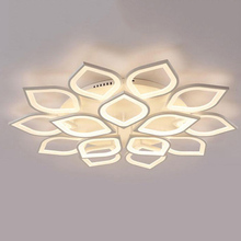 Best price beautiful flower lamps led lights ceiling light for home decoration
