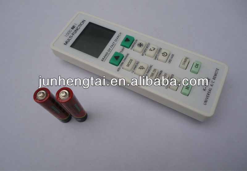 supply sanyo air conditioner remote control