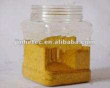 Iron oxide yellow / colored pigments for asphalt and concrete paving