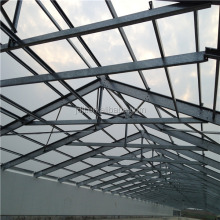 low cost easy install steel structure design poultry farm shed