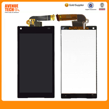 For Sony Xperia Z2 D6502 D6503 D6543 New Black LCD Display Panel Screen + Digitizer Touch Screen Glass Assembly with Frame