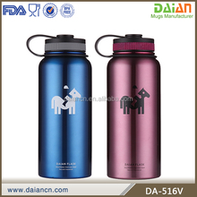 Customized stainless steel drinking bottles