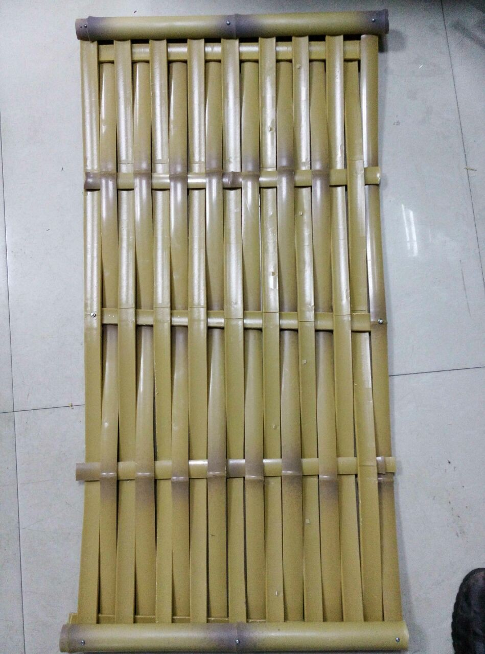High quality Artificial Colored fire retardant Bamboo Garden Fencing 10 years lifetime