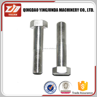 Adjustable stainless steel hex nut and bolts